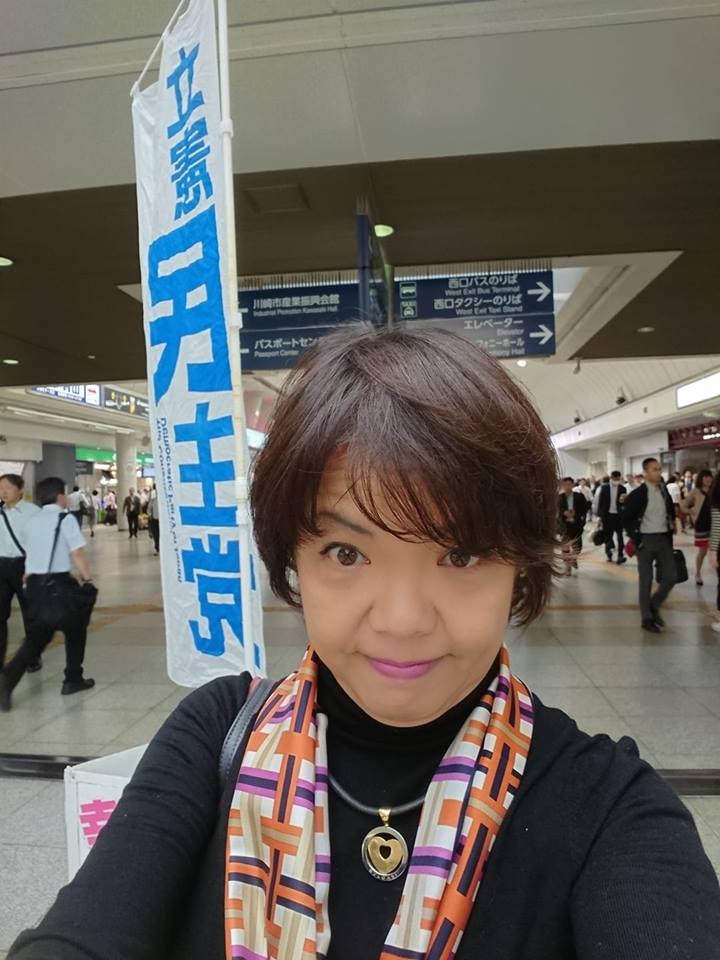 水曜日はココカラ@川崎駅西口。肌寒くなってきました。